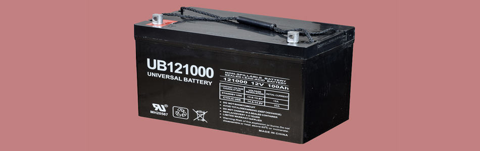 Universal battery with Sealed Lead-Acid