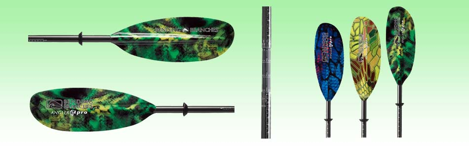 Bending Branches Kayak Paddle with Adjustable Feathering Angle
